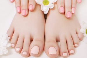 NU Skin Natural Pedicures