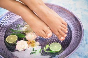 Natural Fresh Fruit Pedicures